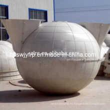 SMC Biogas Digester frp generación de biogás