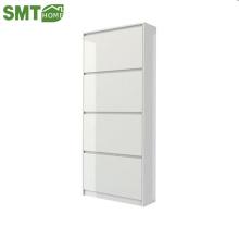 new model design melamine mdf modern shoe cabinet