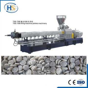 Tse-75 500-1000kgh PP PE CaCO3 Füllstoff Masterbatch Pelletierlinie