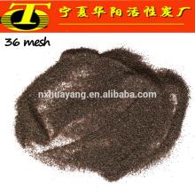 Grano 24 # 36 # 46 # arena que arruga el grano de alúmina fundido marrón