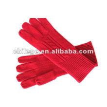 Damen Cashmere stricken Handschuhe und Handschuhe
