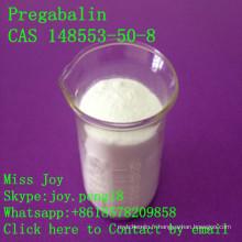 Pregabalin Pregabalin cru élevé CAS 148553-50-8 Anticonvulsant Antiépileptique API Vente directe d'usine