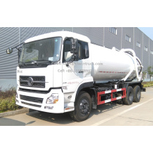 Brand New Dongfeng 16m³ Wasted Water Suction Truck