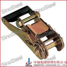"1-1/2""-38mm Wide Handle Snowboard Binding Ratchet Strap Buckle"