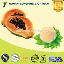 Poudre de papaye multi ingrédient de vente chaude pour faire des bonbons et des biscuits