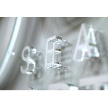 Placa do sinal da letra do acrílico do escritório 3D