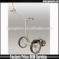 lithium battery powered golf trolley