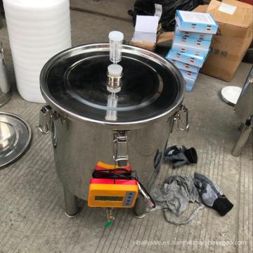 30L 50L 100L fermentador cónico de fabricación casera