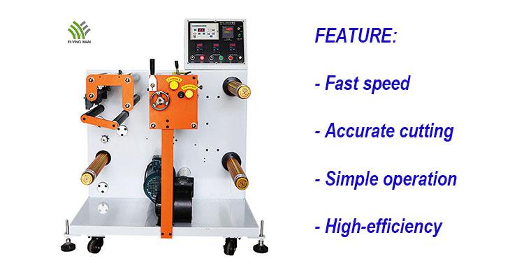 Flying Man Brand High Speed Slitting Rewinding Machine Small