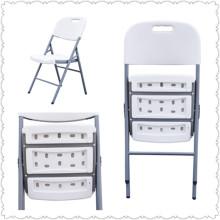 Cadeiras de plástico dobráveis para uso ao ar livre