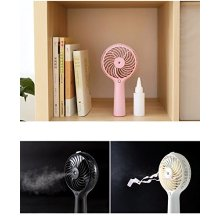 Customized for Rechargeable Table Fan Water Tanks 1200mA Power Mini Mist Fan USB export to Indonesia Exporter