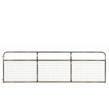 Portes de ferme en acier de haute résistance pour la ferme d'élevage