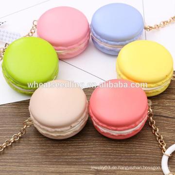 Werbe-süße Farbe Macaron Plastik keychain Hersteller