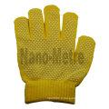 NMSAFETY pvc dots sur des gants en coton