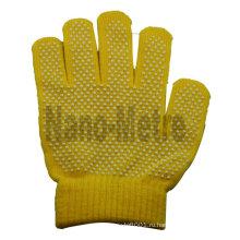 NMSAFETY ПВХ точками хлопка перчатки