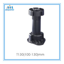 Adjustable Kitchen Leg dengan Clip (100-130) pak 4