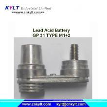 Fundição em liga de chumbo para Gp 31 Tipo M1 M2 Terminal de bateria