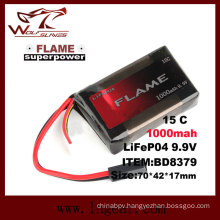 Flame 9.9V-1000 15c LiFePO4 LFP Battery with Best Price