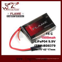 Flamme 9.9V-1000 15 c LiFePO4 LFP-Batterie mit bestem Preis