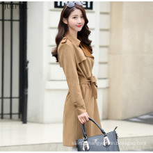 Fashion Fit Woman Jacket Elegant Korean Style for Ladies in Winter