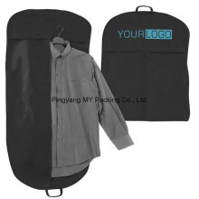 Advertising PP Non-Woven Men′s Suits Garment Bag Cover