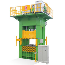 CE Standard Taiwan H Type Hydraulic Press for Kitchen Ware Industry 800t Fixed Bolster
