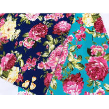100%Cotton Stretch Twill Poplin Printing Fabric