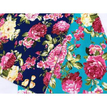 100%Cotton Stretch Twill Poplin Printing Fabric