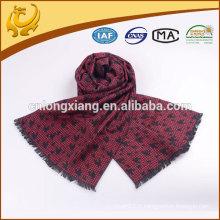 Écharpe d'hiver en soie tissée chaude et cachemire souple