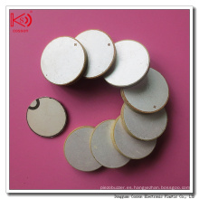 Cilindro de disco de cerámica de Pzt 10m m de alta calidad con buen precio