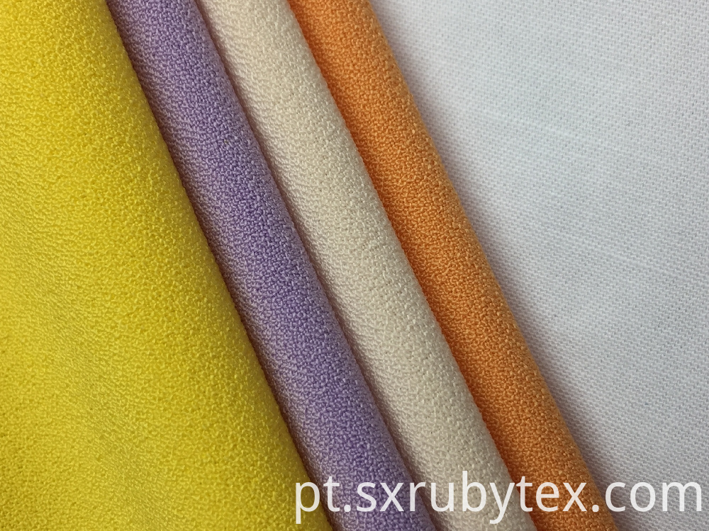 Polyester Crepe Solid Fabric