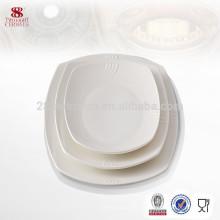 Beste Verkauf Porzellan Geschirr moderne Küche Designs quadratische Platte für Großhandel