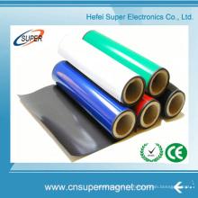 Равносвойственные гибкие изготовленные на заказ изготовления Китая сильная резиновые магниты с PVC цвета