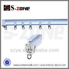 SC02 гибкая пластиковая изогнутая дорожка для занавеса в домашнем убранстве