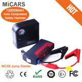 12000mah portable multifunction car emergency battery booster