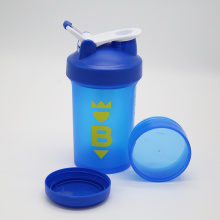 Fast Delivery for China Gym Shaker,Food Grade Shaker Bottle,Sports Shaker,Mixball Shaker Manufacturer 450ml Blue shaker Cup Jarindividual lid 100cc Jar supply to Rwanda Wholesale