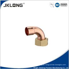 Conexão de tubulação de cobre