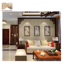 new design and durable vinyl woven wall covering for decoration