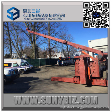 50 Ton Sliding Rotator Heavy Duty Road Wrecker Upper Body