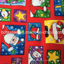 Stocklots of X′mas Decorative Fabric 100%Cotton