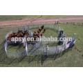 metal tubular used fence panel for livestock farm /horse panel fence