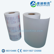 Medical Blister Paper For Disposable Syringe Packaging