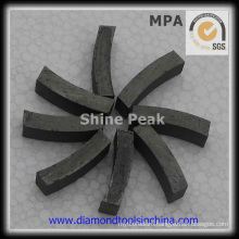 Good Performance 1600mm Diamond Segment for Marble