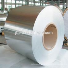 Folha de alumínio lubrificada macia de 8011 China para o recipiente da linha aérea