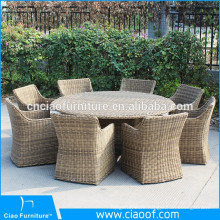 Classics UV-Proof Dining Set Rattan Chairs Outdoor Furniture