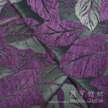 Tissu d'ameublement Polyester jacquard Chenille pour Textile à la maison