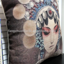 chinese style digital printed  sofa cushion
