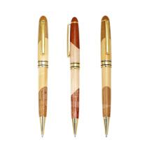 Pluma de bola de madera del nuevo regalo que tuerce el bolígrafo