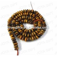 Scheibe geformte Tigereye Perlen