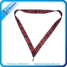 Hochwertige benutzerdefinierte Medal Ribbon ohne Mindestbestellmenge
